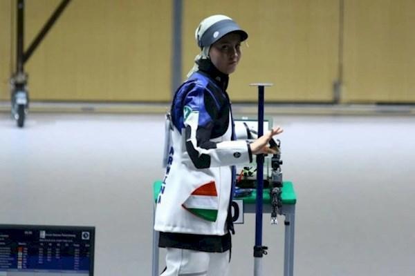 مسابقات تیراندازی قهرمانی دنیا ، نقره تاریخی تیم میکس تفنگ جوانان