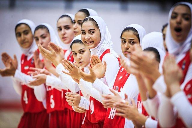 دختران بسکتبالیست ایران پنجم آسیا شدند