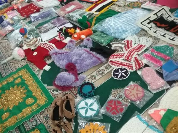برگزاری آزمون صنایع دستی در روستای فاریاب بستک