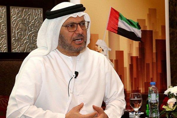 مداخله مجدد وزیر اماراتی در مسائل ایران با توصیه به حسن روحانی!