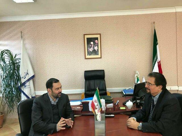 دیدار سفیر کشورمان با رئیس اداره معاضدت قضایی کانون وکلای تهران