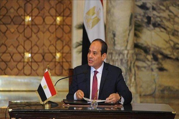 تاکید رئیس جمهور مصر بر حمایت از اراده مردم سودان