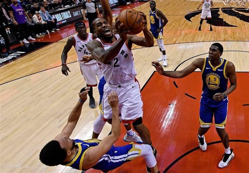 رپتورز فینال NBA را با پیروزی شروع کرد، شکست قهرمان در گام نخست