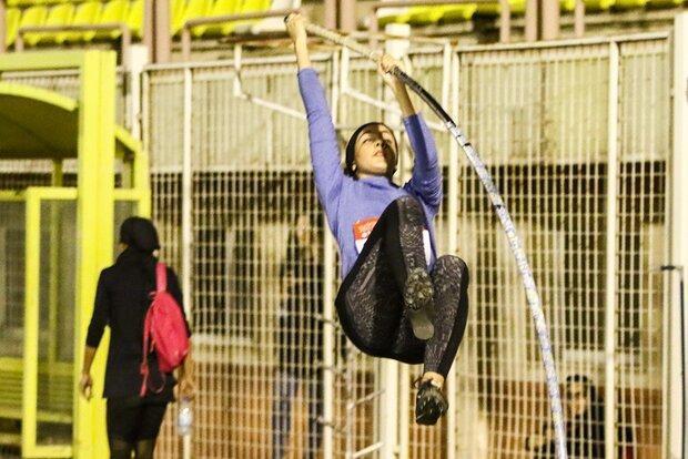 پایان لیگ طلایی دوومیدانی بانوان، یک رکورد ملی شکست