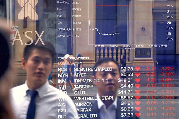 دوشنه 14 مرداد ، سهام آسیایی به پایین ترین سطح 6 ماهه خود رسید