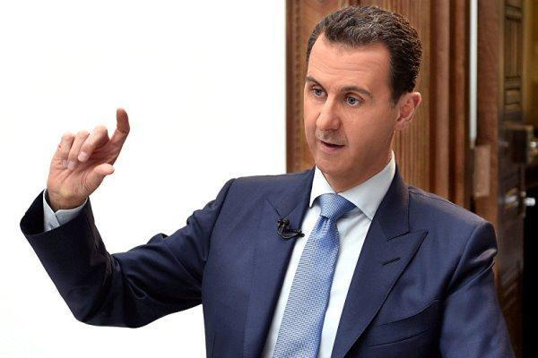 بشار اسد: ترکیه به حمایت نامحدود از تکفیری ها ادامه می دهد