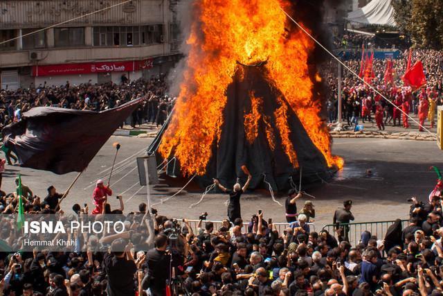 توصیه های آتش نشانی در اجرای مراسم خیمه سوزی