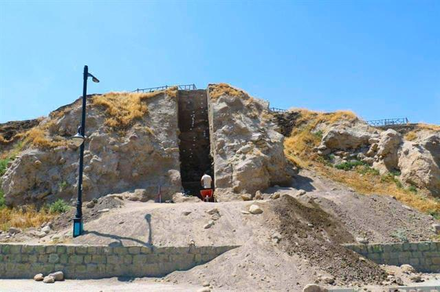 کشف یک سازه منحصر به فرد در محوطه باستانی کول تپه سرعین