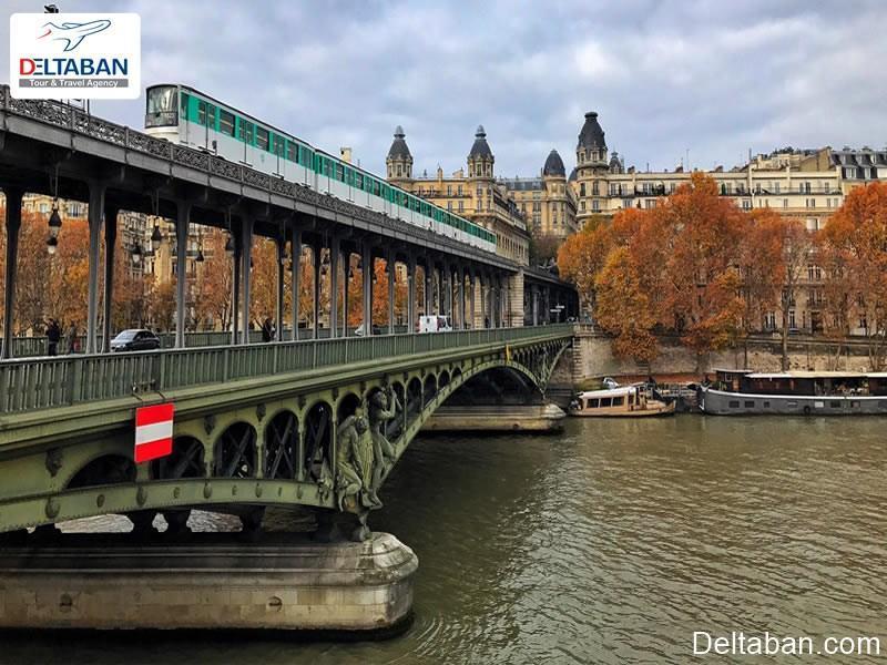 حمل و نقل عمومی پاریس و معرفی آن
