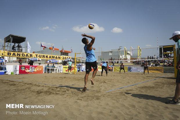 تیم های حاضر در تور جهانی والیبال ساحلی بندرترکمن تعیین شدند