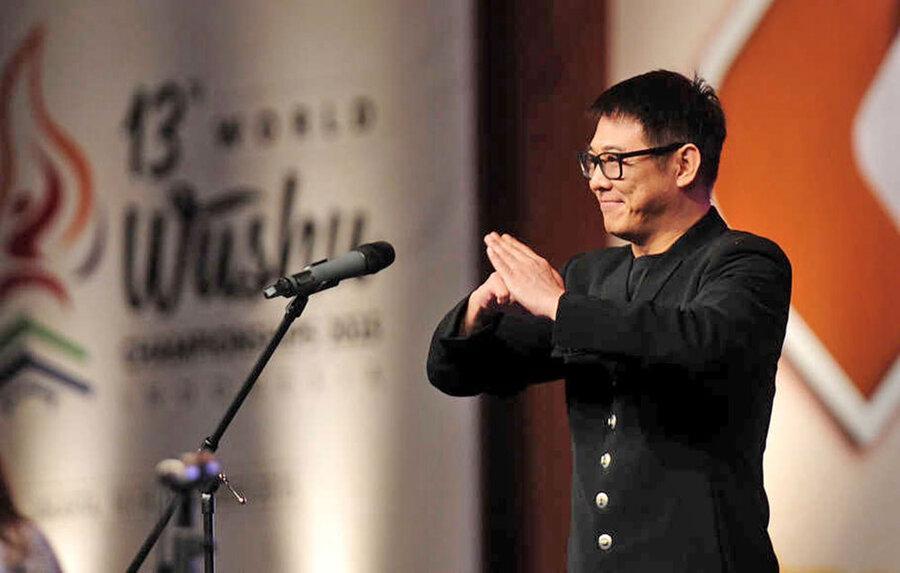 حضور جت لی در مسابقات ووشوی قهرمانی دنیا