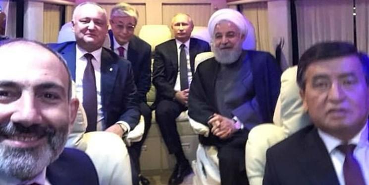 نخست وزیر ارمنستان درباره سلفی با روحانی و پوتین شرح داد