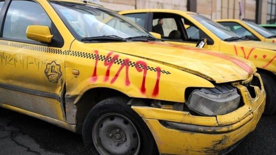 نوسازی 5 هزار دستگاه تاکسی فرسوده تا خاتمه 98