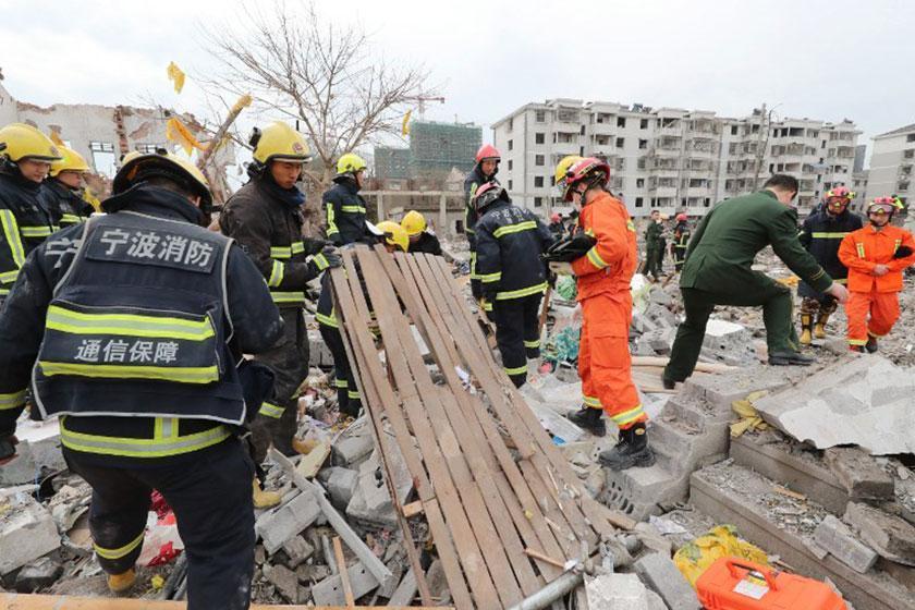انفجار در شهر بندری نانگبو در چین