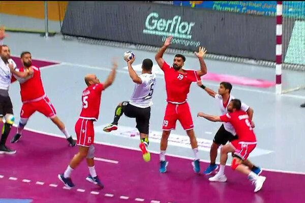 شکست تیم ملی هندبال ایران برابر بحرین