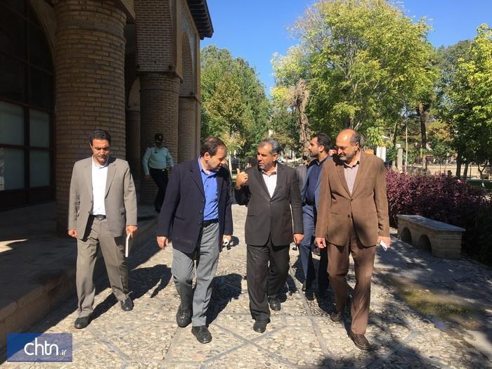 عملیات اجرایی سامان دهی و مرمت بنای تاریخی گرندهتل قزوین شروع می گردد