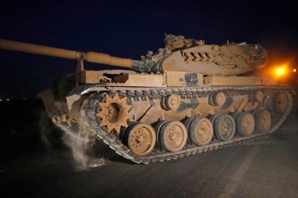 حمله زمینی ارتش ترکیه به شمال شرق سوریه شروع شد