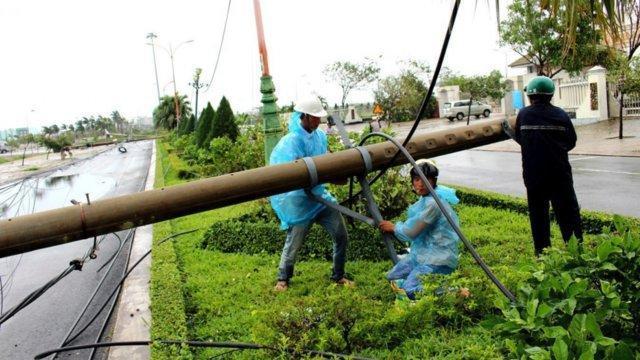 تلفات طوفان در ویتنام به 27 تن رسید