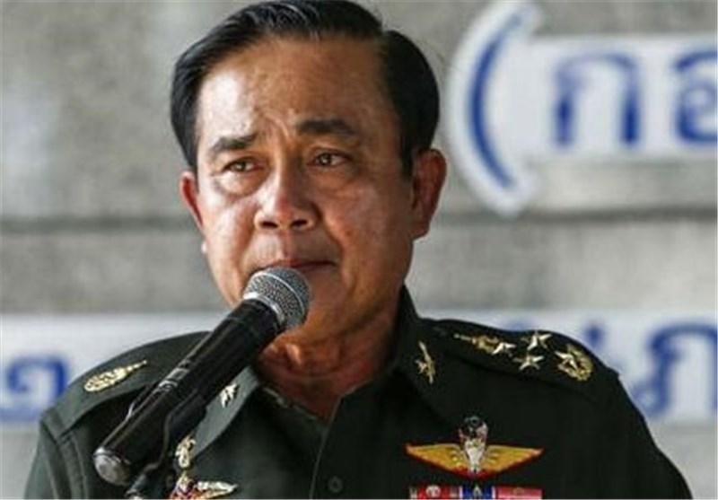 رهبر کودتای تایلند: تا یک سال انتخابات برگزار نخواهد شد