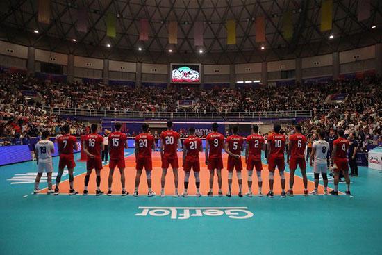 پیروزی قاطع تیم ملی والیبال ایران مقابل کانادا