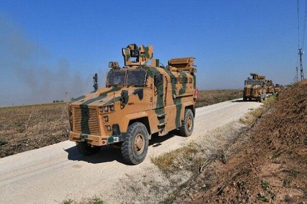 هفتمین گشت زنی نیروهای ترکیه و روسیه در شمال سوریه