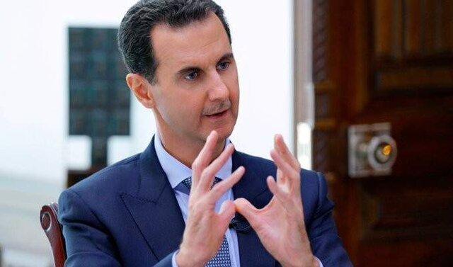 توئیتر حساب بشار اسد را بست