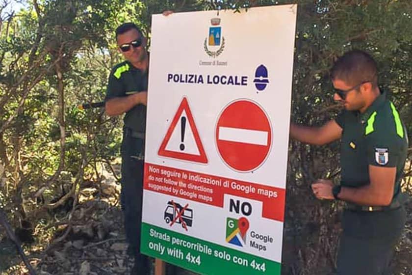 در سفر به جزیره ساردینیا، قید استفاده از گوگل مپ را بزنید