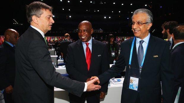 قول شیخ سلمان برای آنالیز مجدد تصمیم کنفدراسیون فوتبال آسیا