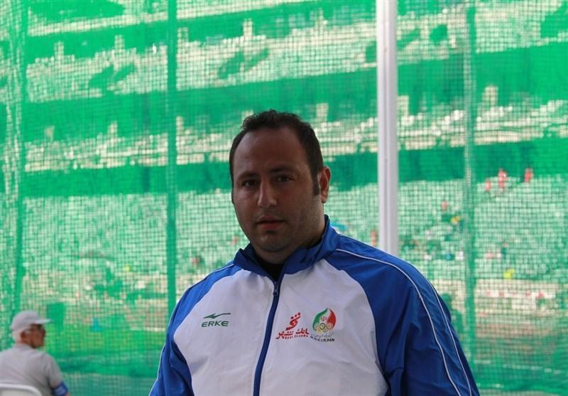 شانس رضا مقدم برای کسب مدال نقره پرتاب چکش آسیا