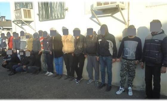 دستگیری 26 معتاد متجاهر در بندرانزلی