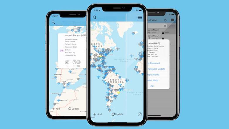 معرفی اپلیکیشن: یافتن بهترین وای فای و رمزعبور آن در فرودگاه های سراسر دنیا