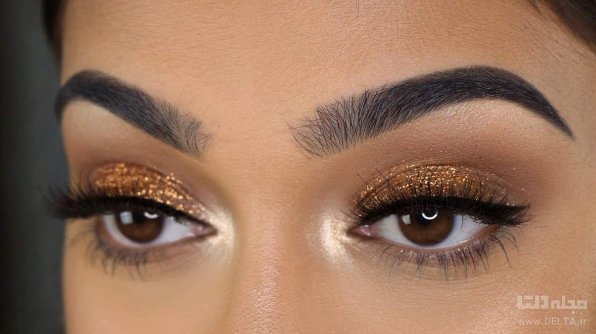 آرایش چشم با سایه اکلیلی