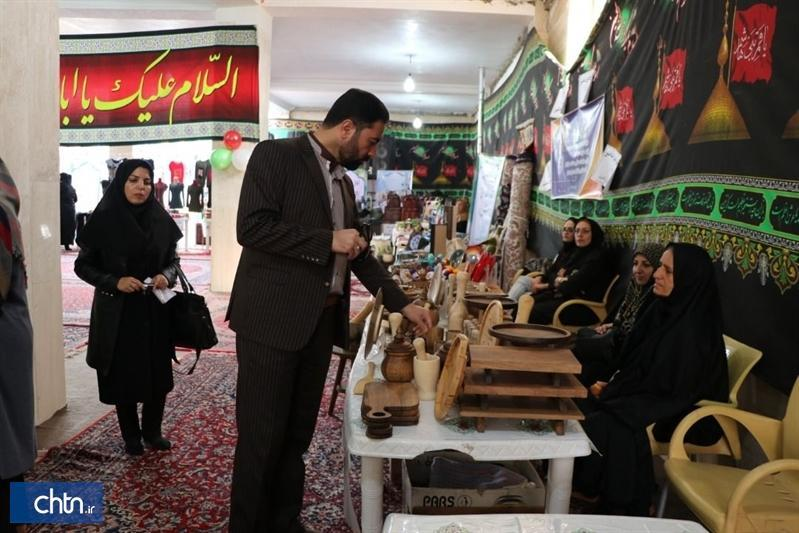 سومین نمایشگاه صنایع دستی و غذاهای سنتی نیم ور افتتاح شد