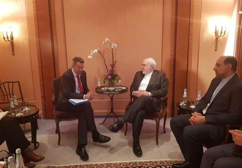 دیدار ظریف و رئیس کمیته بین المللی صلیب سرخ جهانی