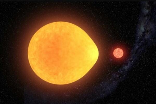 ستاره ای به شکل قطره اشک کشف شد