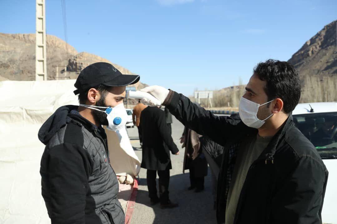 راه اندازی پست قرنطینه در کیلومتر 30 جاده انار به یزد