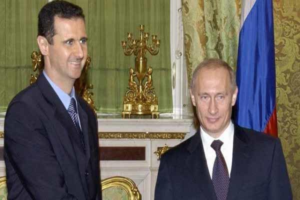 گفتگوی تلفنی پوتین و اسد درباره ادلب