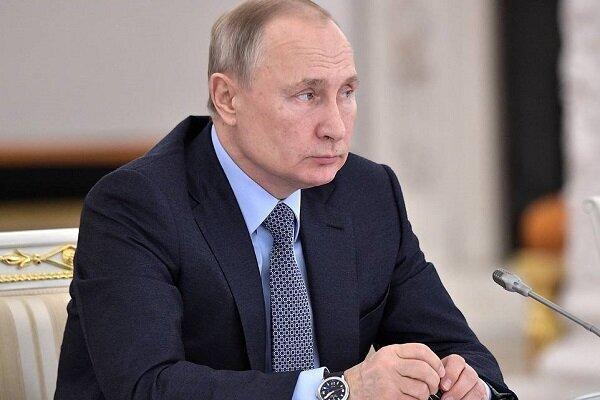 پوتین گفت که کرونا در روسیه کنترل شده