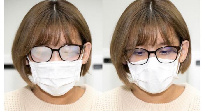 چکار کنیم وقتی ماسک می زنیم عینکمان بخار نکند؟