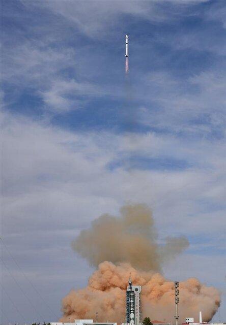 چین 2 ماهواره به مدار ارسال کرد