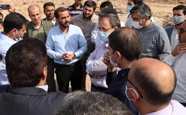 بازدید جمعی از نمایندگان مجلس به مناطق محروم اهواز