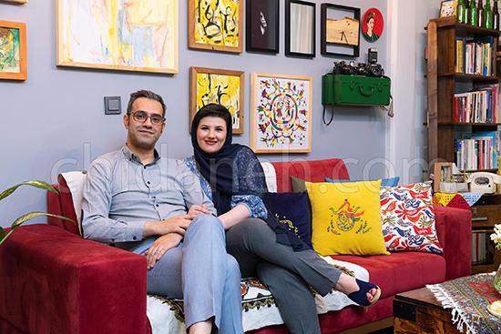 دکوراسیون هنریِ خانه 50 متری فتانه و مهران!