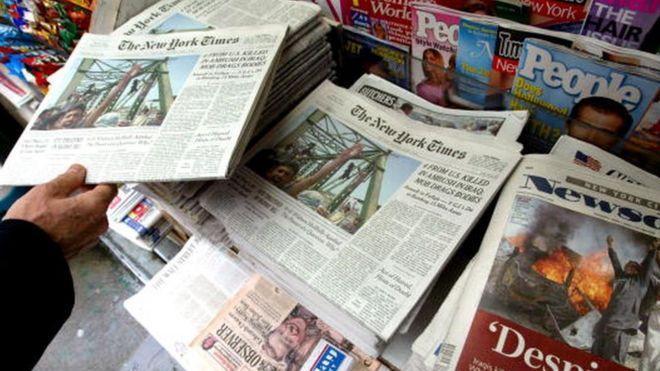 روزنامه چینی: اخراج خبرنگاران چین از آمریکا را تلافی می کنیم