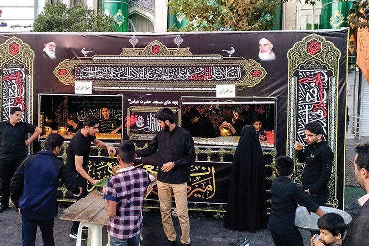 برپایی ایستگاه صلواتی و حرکت دسته های عزاداری در تهران ممنوع شد