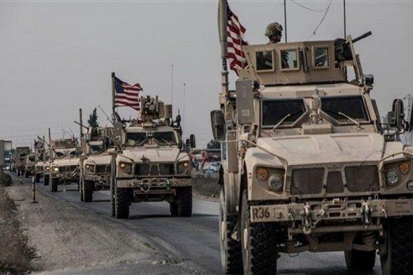 تانکرهای ارتش آمریکا برای سرقت نفت سوریه وارد حسکه شدند