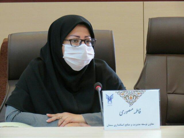 تمجید از کاهش اتکای اقتصادی دانشگاه آزاد استان سمنان به شهریه های دانشجویی