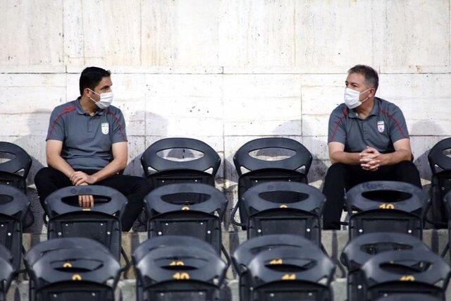 حضور کادر فنی تیم ملی در دربی 93 پایتخت