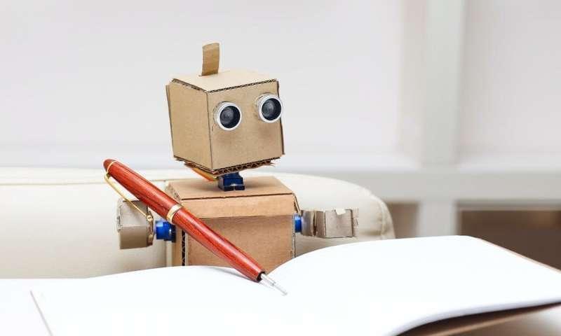 طراحی جدید محققان ، هوش مصنوعی ای که می تواند بنویسد