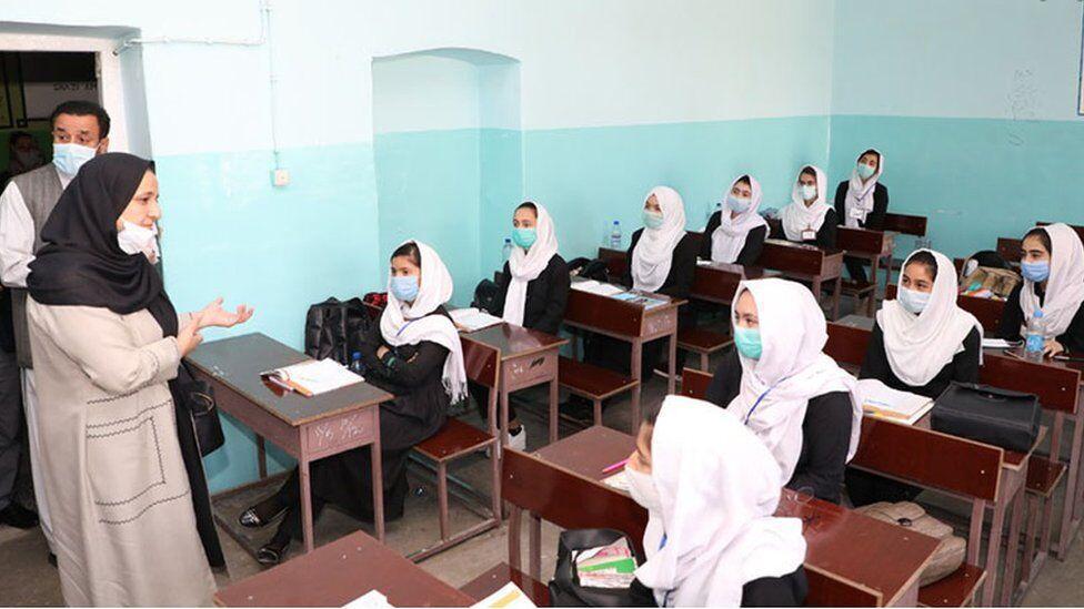 مدارس افغانستان به صورت کامل بازگشایی شد