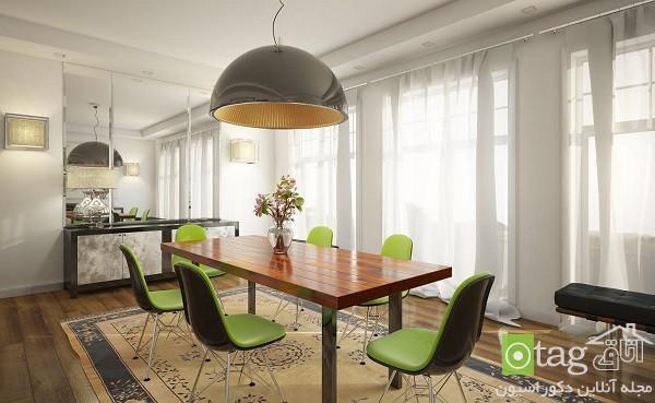 جدیدترین مدل های چراغ آویز شیک و زیبا با طراحی هنرمندانه